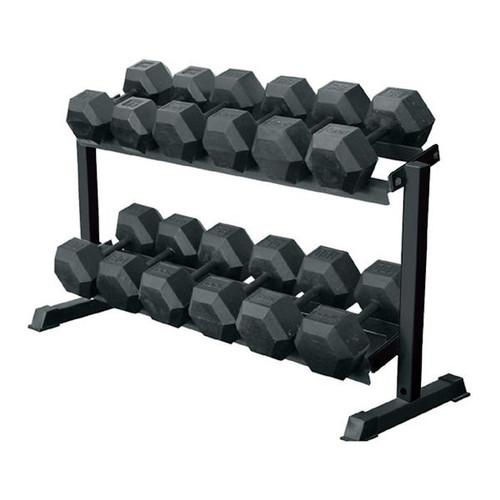 York Barbell 69126 Pro-Hex Dumbbell Rack