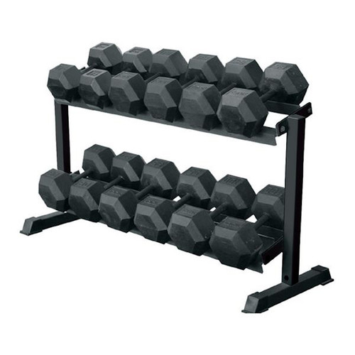 69126 - Dumbbell Rack - 2-Tier - York Barbell
