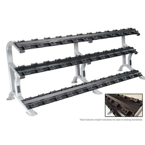 York 3-Tier Commercial Dumbbell Rack