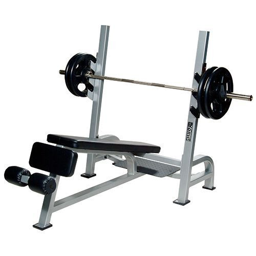 York Barbell STS Commercial Olympic Decline Bench