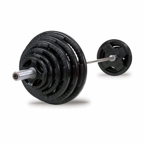 Body Solid Rubber Coated Olympic Weight Set
