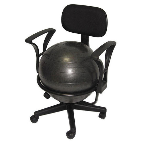Aeromat 35955 Exercise Ball Chair with Arms