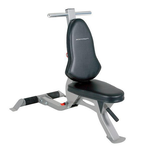 BodyCraft Flat/Incline/Utility Bench w/ Wheels