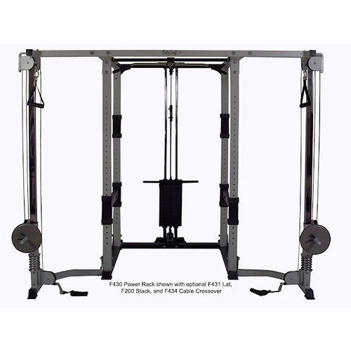 BodyCraft Weight Lifting Power Rack Cable Crossover Option