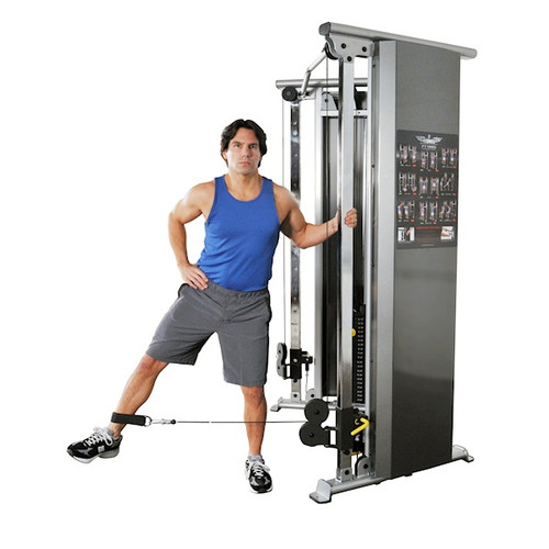 Inflight Fitness Gym Functional Trainer Low Pulley Setting