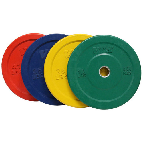 Gym Bumper Plate Set