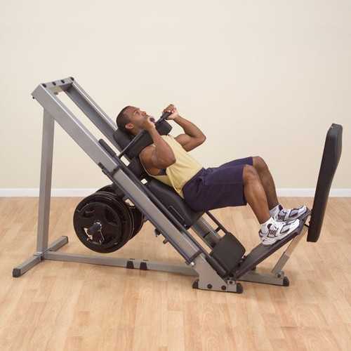 Body Solid Plate Loaded Hack Squat/Leg Press Combo