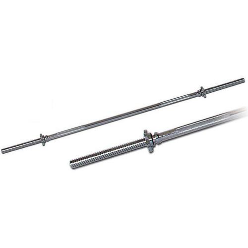 """York (6025) 5 ft. Standard 1"""" Threaded Weight Lifting Bar"""