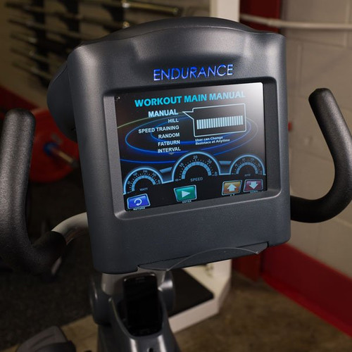 Body Solid Endurance Recumbent Bike Console Display