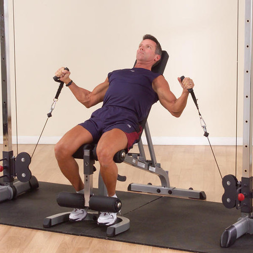 Body Solid Dual Cable Crossover System