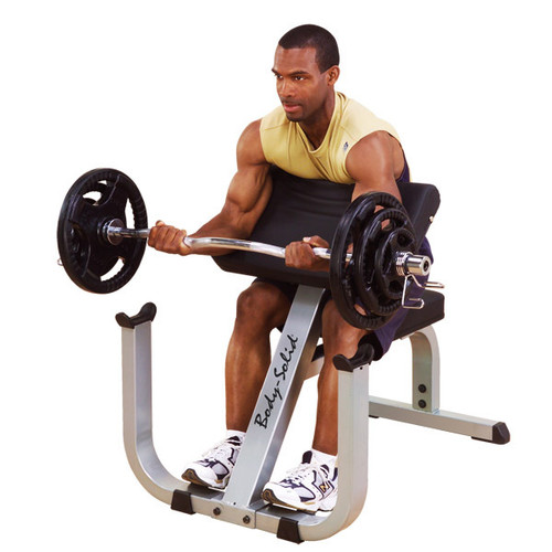 Body Solid Preacher Curling Bench