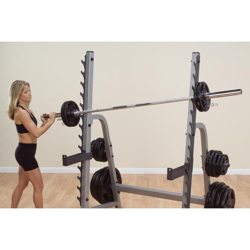 Body Solid Rack Bar Height Adjustment
