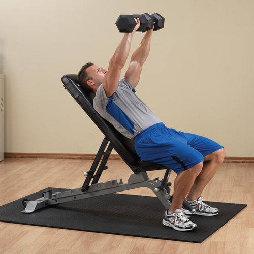 Sfid325 Body Solid Adjustable Bench W Wheels Gtech Fitness