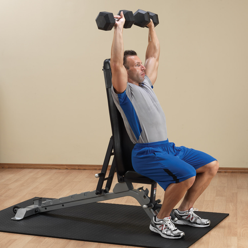 Body Solid Adjustable Weight Lifting Bench