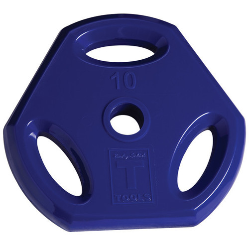 10 lb. Colored Grip Plate