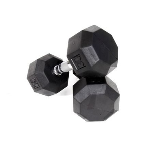 Troy VTX 8-Sided Rubber Dumbbells
