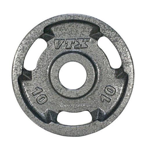 Troy Barbell VTX 10 lb. Gray Iron Grip Plate