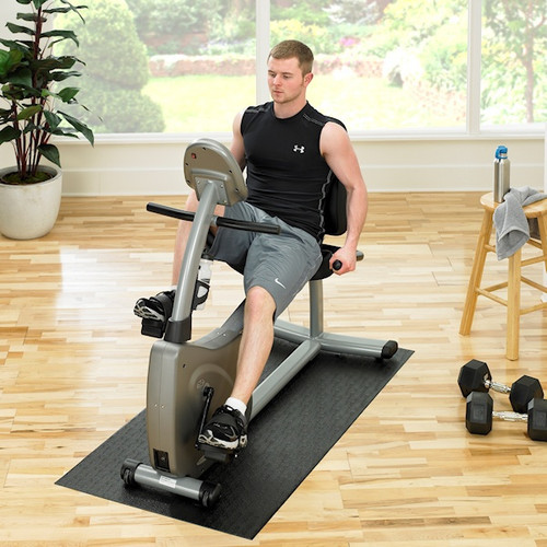 Supermats Home Recumbent Bike Floor Mat