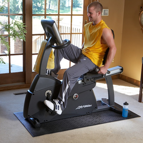 SuperMats 40GS Recumbent Bike Mat