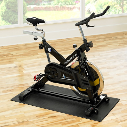 SuperMats Home Spin Bike Mat