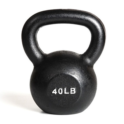 York 40 lb. Gym Kettlebell