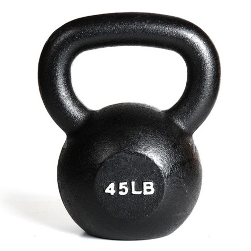 York 45 lb. Cast Iron Kettlebell