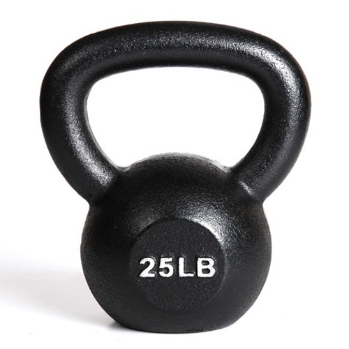 Kettlebell - 25 lb. - Commercial - York
