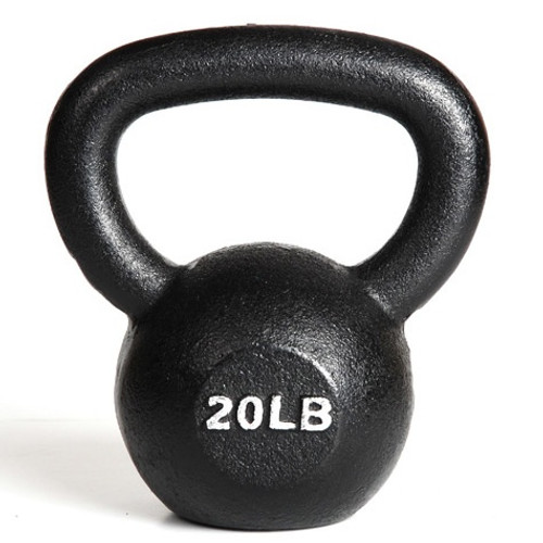 York 20 lb. Workout Kettlebell