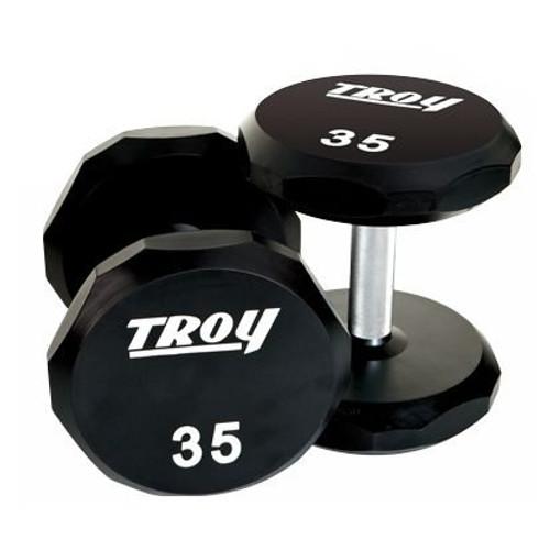 Troy 12-Sided Urethane Dumbbells