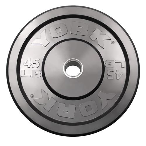 45 lb. York Rubber Bumper Plate