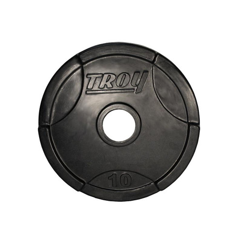 Troy 10 lb. Rubber Coated Olympic Plate
