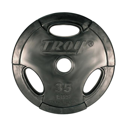 Troy 35 lb. Interlocking Rubber Plate