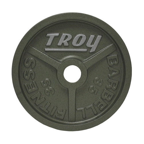 35 lb. Troy Machined Olympic Plate