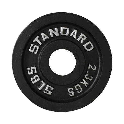 Troy USA Sports 5 lb. Black Weight Lifting Plate