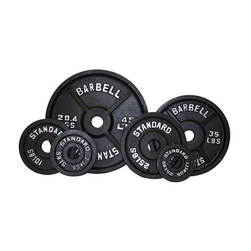 USA Sports Black Iron Plates