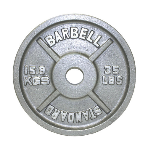 Troy USA Sports 35 lb. Weight Plate