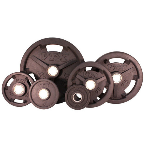 Troy VTX GO-VR Rubber Coated Olympic Grip Plates