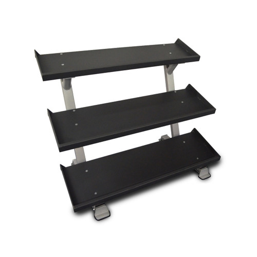 Inflight Fitness Commercial 3-Tier Weight Rack