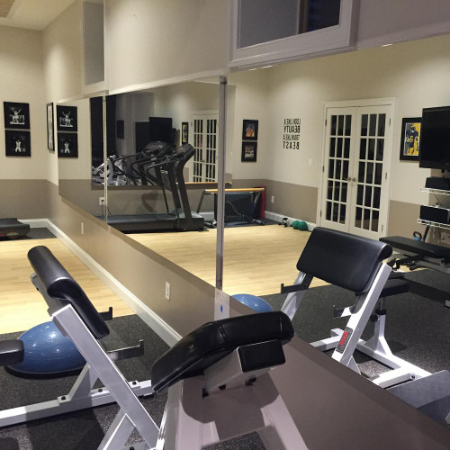 Glass-less Gym Wall Mirrors