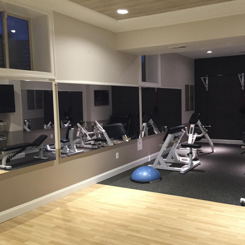 Gym Wall Mirrors glassless gym mirrors | wall mounted | gtech fitness