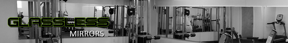 Glassless Gym Mirrors and Dance Mirrors