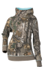 DSG Hunting Side Button Hoodie-Realtree Xtra/Aqua