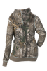 DSG Side Button Hoodie in Realtree Xtra Camo/Aqua