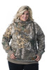 DSG Side Button Hoodie in Realtree Xtra/Aqua-Plus Sizes