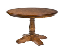 Manchester English Pedestal Dining Table