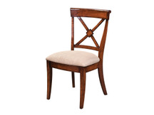 Manchester Braslow Dining Side Chair - Fabric Seat