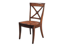 Manchester Braslow Dining Side Chair - Wood Seat