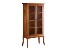 Glenwood Sabin Bookcase with Glass Doors