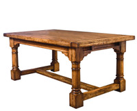 Manchester English Refectory Dining Table