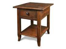 Silverlake End Table with French Legs